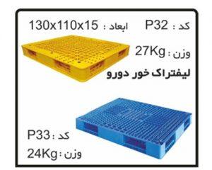 پالت های پلاستیکی کد P32